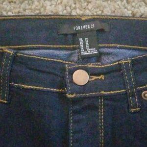 Forever 21 Jeans - Forever 21 Indigo Skinny Ankle Jeans